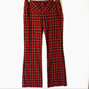 Le Chateau Royal Stewart Tartan-like Plaid Pants